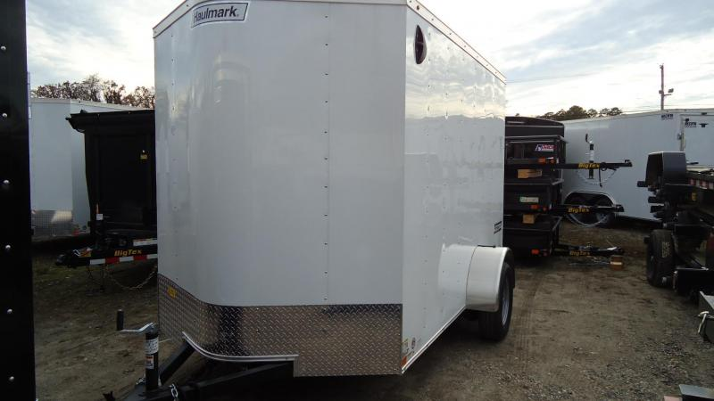 2020 Haulmark 6X10 PP S2 D RAMP WHITE Enclosed Cargo Trailer