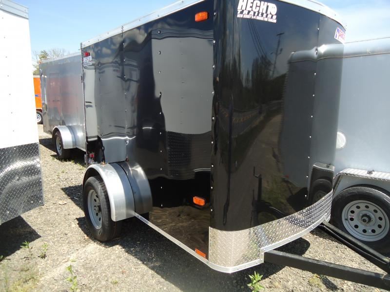 2019 Pace American 5X8 OB SI2 RAMP BLACK Enclosed Cargo Trailer
