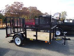 2015 Big Tex Trailers UT-7X14 35LS-14BK Utility Trailer