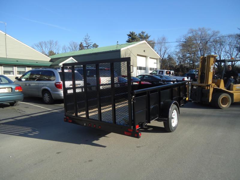 2018 Big Tex Trailers UT 6.5X12 35SV-12BK4RG BLACK Utility Trailer