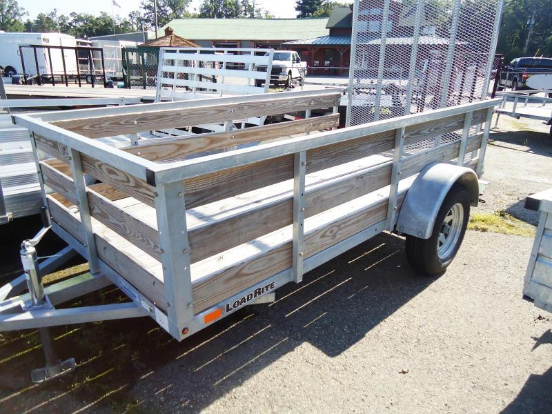 2016 Load Rite GALVANIZED UT 5X10 HW WOOD SIDES GATE SPARE Utility Trailer