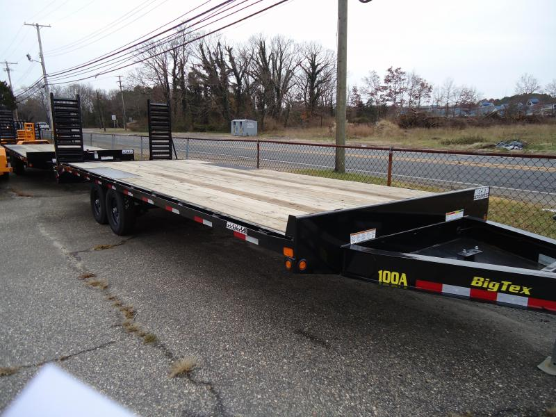 2019 Big Tex Trailers EH 8.5X22 10OA 19+3BK DT BLACK Equipment Trailer