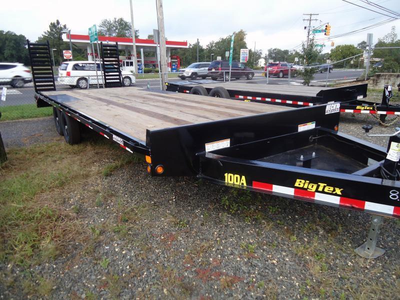 2019 Big Tex Trailers EH 8.5X22 10OA 19+3BK DT BLACK Equipment Trailer
