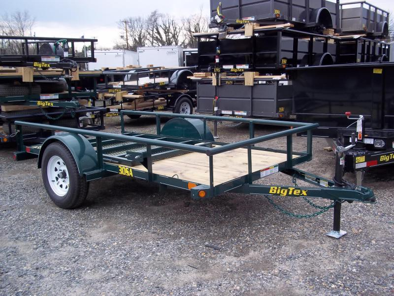 2016 Big Tex Trailers UT-5X10 30SA-10GR4RG GREEN Utility Trailer
