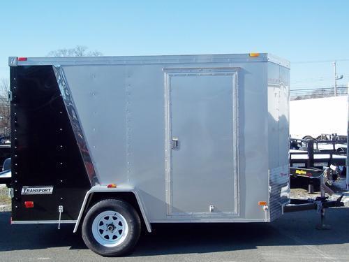 2017 Haulmark 6X12 TSTV DS2 SILVER&BLACK Enclosed Cargo Trailer