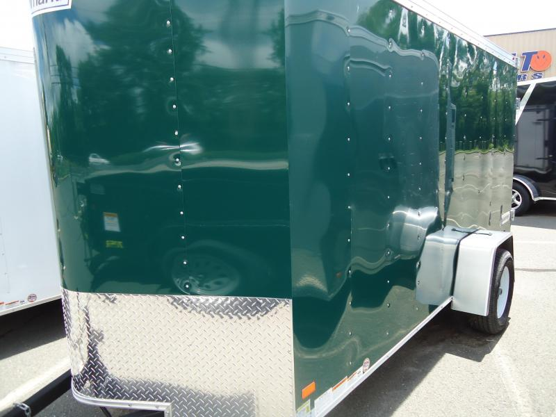 2017 Haulmark TSTV 6X12 DS2 Enclosed Cargo Trailer