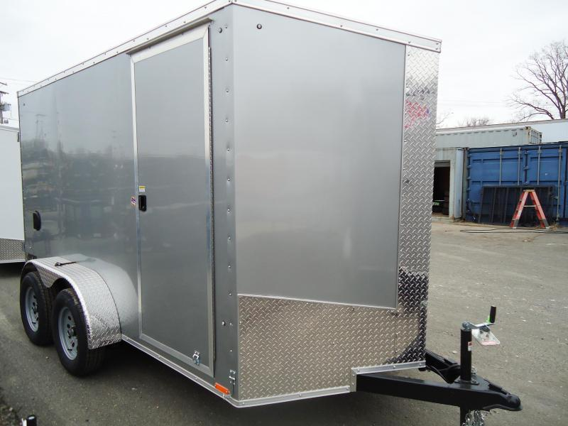 "2018 Pace American 6X12 JVSE TE2 6""X VS SVNTS SILVER Enclosed Cargo Trailer"