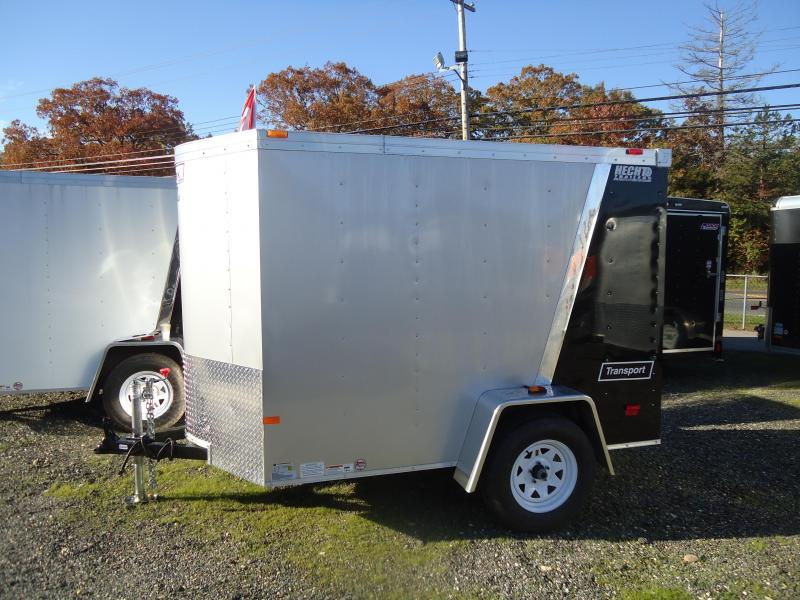 2017 Haulmark 5X8TSTV DS2 LD RAMP SILVERBLACK Enclosed Cargo Trailer