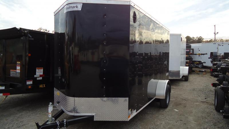 2020 Haulmark 6X12 PP S2 D RAMP BLACK Enclosed Cargo Trailer