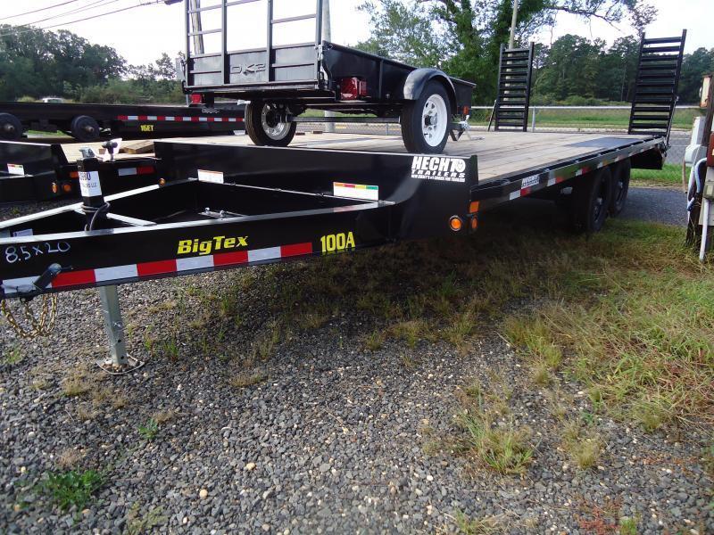 2019 Big Tex Trailers EH 8.5X20 10OA 17+3 BK DT BLACK Equipment Trailer