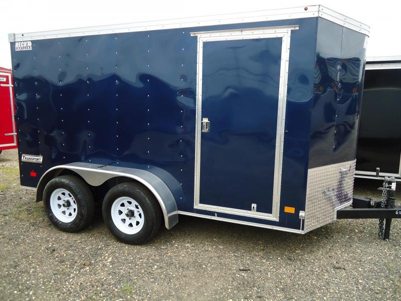 2017 Haulmark 6X12 TSTV DT2 RAMP BLUE Enclosed Cargo Trailer