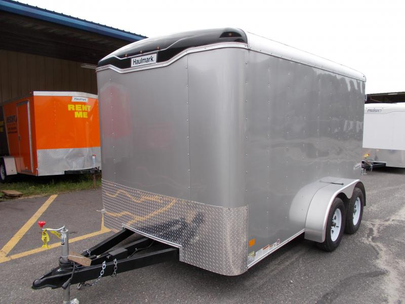 2017 Haulmark 7X12 TST WT2 12X TUNG SILVER Enclosed Cargo Trailer