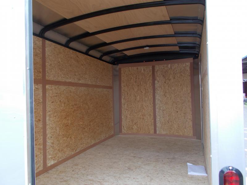 2017 Haulmark 7X12 TST WT2 12X TUNG SILVER Enclosed Cargo Trailer