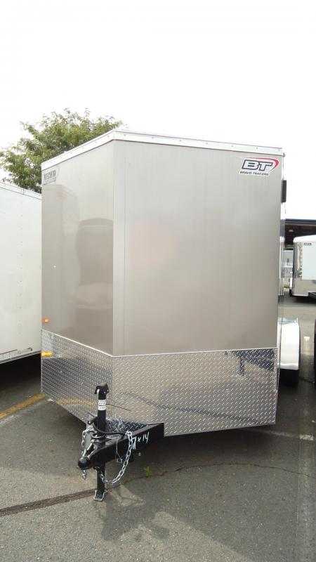 "2020 Bravo Trailers 7X14 SC TA2 30V 6"" X RAMP APP BEIGE & BLACK Enclosed Cargo Trailer"