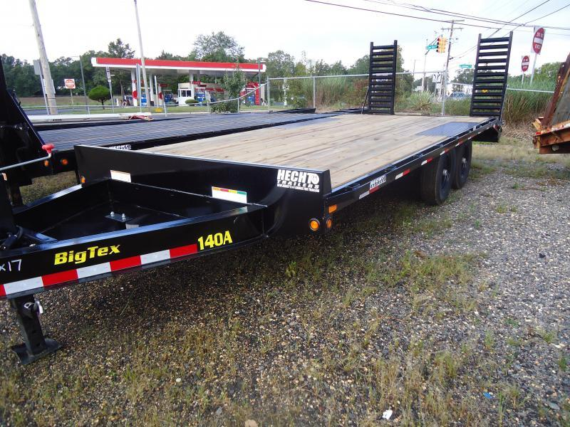 2019 Big Tex Trailers EH 8.5X20 14OA 17+3 BK BLACK Equipment Trailer