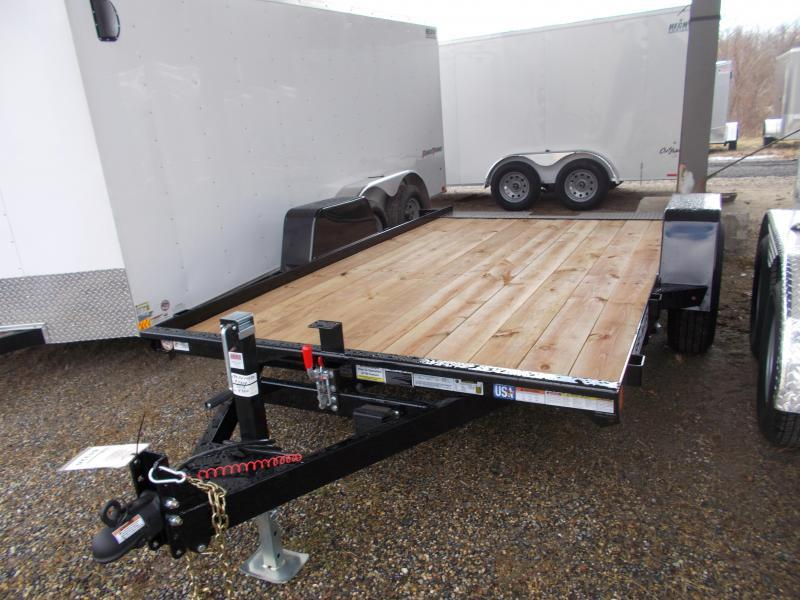 2019 Bri-Mar 7X12 BTG SA TILT BLACK Equipment Trailer