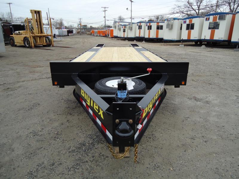 2018 Big Tex Trailers EH 8.5X25 14PH 20BK + 5 DT 5FUR BLACK Equipment Trailer