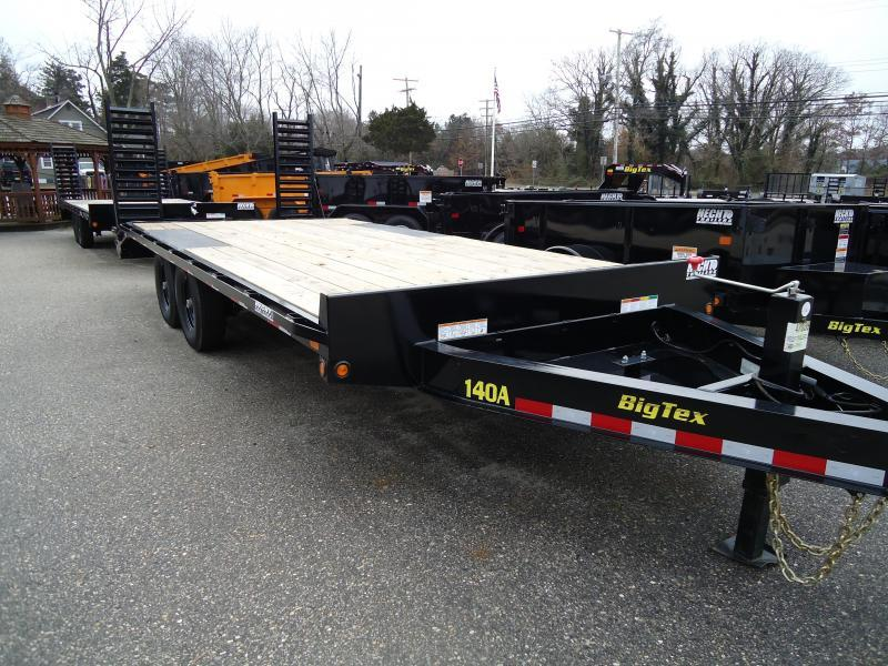 2019 Big Tex Trailers EH 8.5X22 14OA 193BK DT BLACK Equipment Trailer