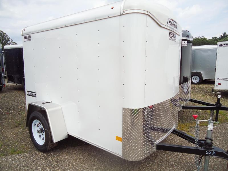 2017 Haulmark 5X8 TST DS2 WHITE Enclosed Cargo Trailer