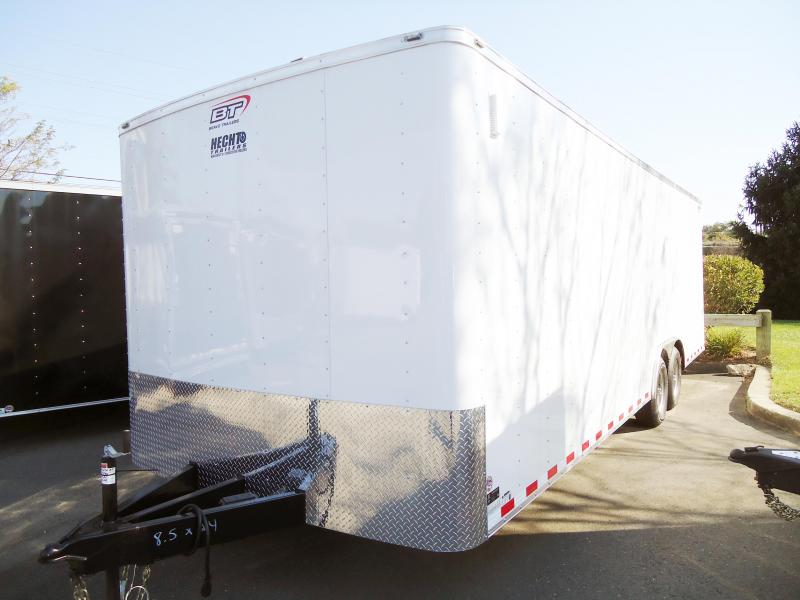 2019 Bravo Trailers 8.5X24 SC TA3 AUTO HD RAMP DRNG WHITE Car / Racing Trailer