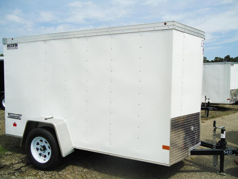 2017 Haulmark 5X10 TSTV DS2 LD RAMP WHITE Enclosed Cargo Trailer