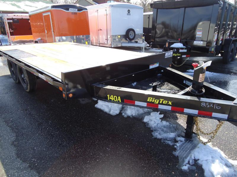 2018 Big Tex Trailers EH 8.5X16 14OA 16BK8SIR BLACK Equipment Trailer