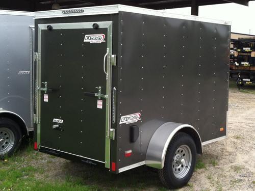 2016 Bravo Trailers 5X8SC SA 6X LD RAMP APP Enclosed Cargo Trailer