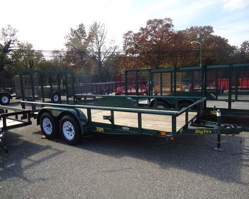 2015 Big Tex Trailers UT-7X16 70PI-16XGR 4RG Utility Trailer