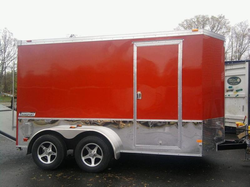 2016 Haulmark 7X16TSTV WT2 12TUNG RAMP Enclosed Cargo Trailer