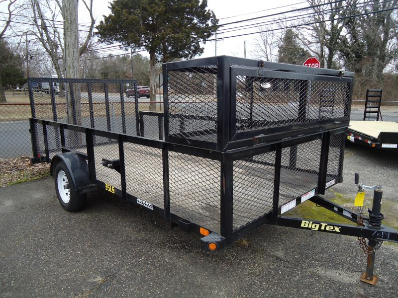 2015 USED Big Tex Trailers 6.5X14 35LS Utility Trailer