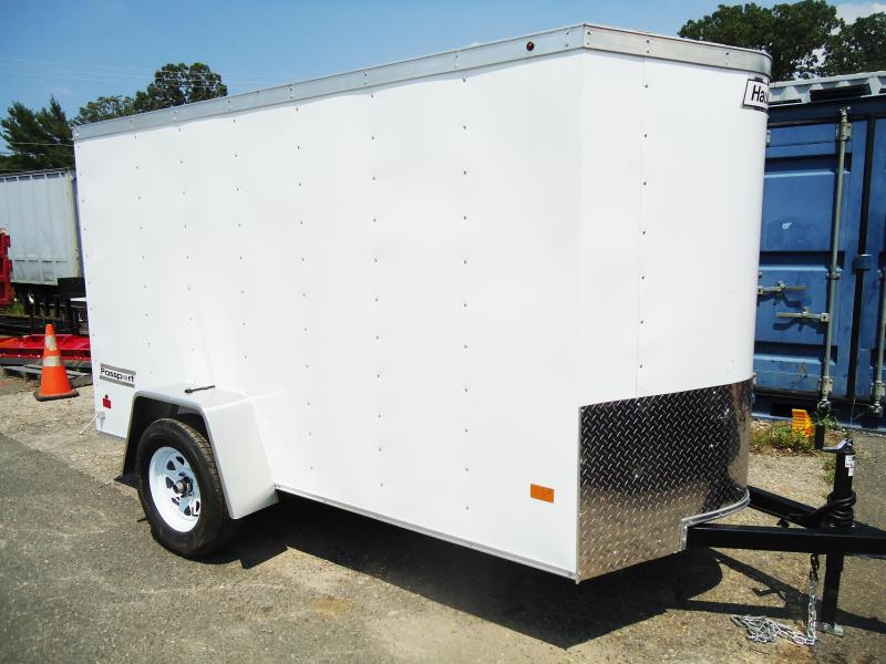 2017 Haulmark 5X10 PPT DS2 WHITE Enclosed Cargo Trailer
