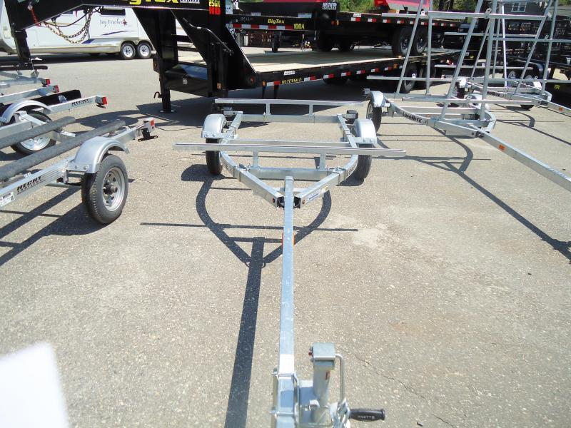 2019 Load Rite K1000 2T 2 KAYAK SWIVEL TONGUE JACK Watercraft Trailer