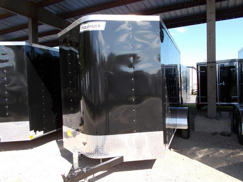 2020 Haulmark 6X12 PPT S2 BLACK Enclosed Cargo Trailer