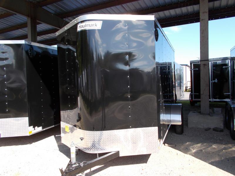 2020 Haulmark 6X12 PPT S2 BLACK Enclosed Cargo Trailer