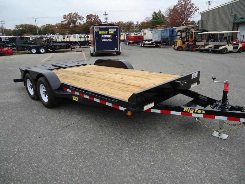 2018 Big Tex Trailers EH 7X20 10ET 20BK-MR MEGA BLACK Car / Racing Trailer