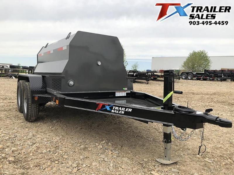 2020 East Texas 5 X 8 DIESEL TANK TRAILER WITH 600 GAL TANK 7K