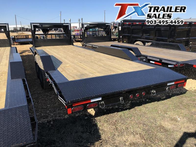 "2020 East Texas 102"" X 24' CAR HAULER/EQUIPMENT 14K Equipment Trailer"