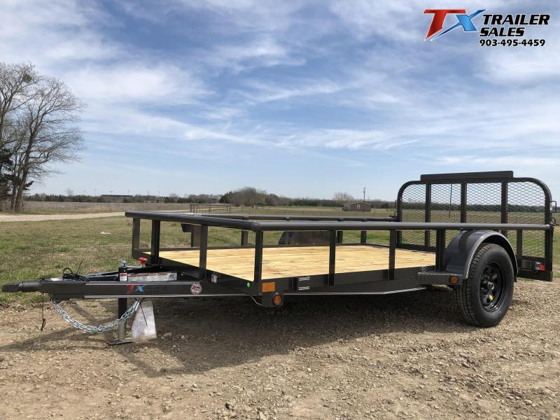 "2020 East Texas 77"" X 12' Single Axle Utility Trailer"