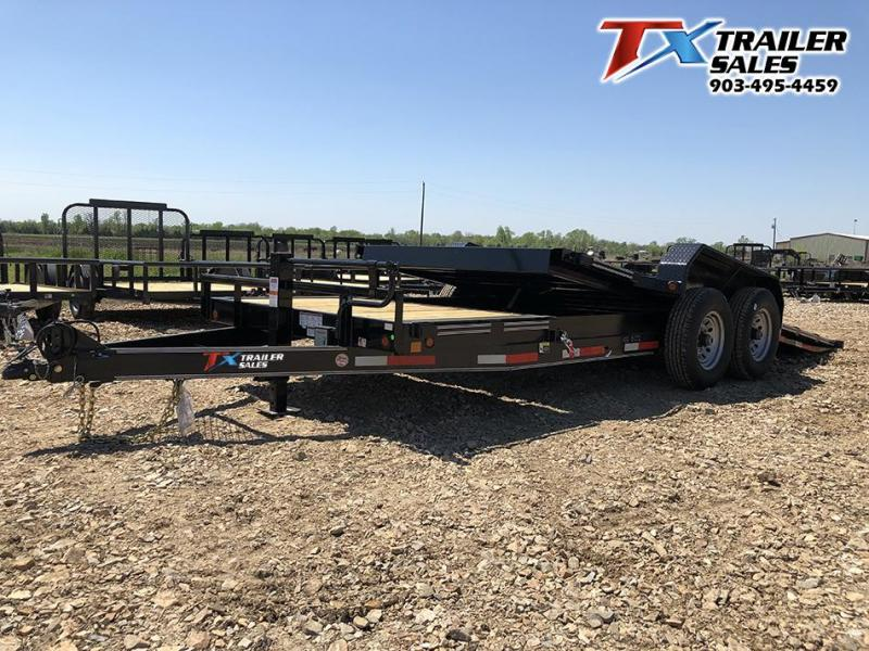 2020 83 X 20 TILT DECK 14K (16' TILT DECK 4' STATION Car / Racing Trailer