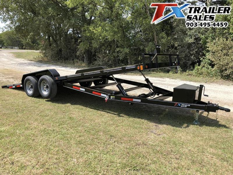 "2020 East Texas 83"" X 20' TONGUE DROP TILT DECK 10K Car / Racing Trailer"