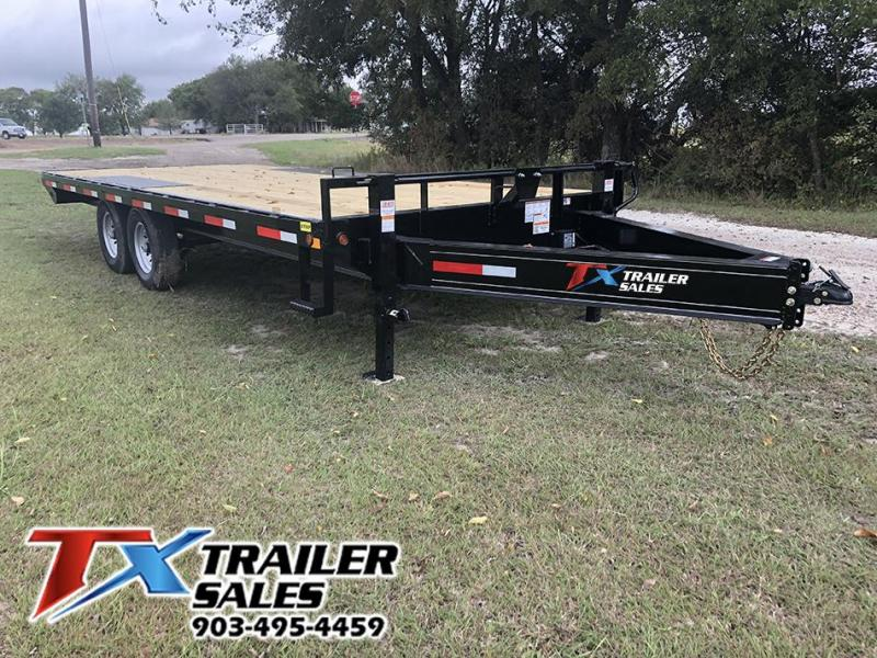 2020 East Texas 102 X 20 BP DECK OVER 14K Flatbed Trailer