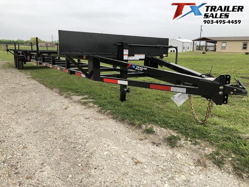 2020 East Texas 84 X 40 BP PIPE TRAILER 14K