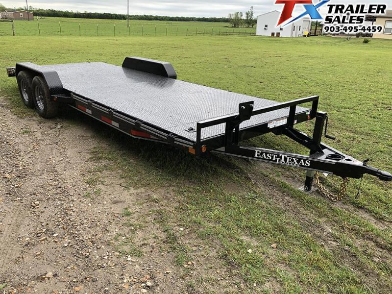 2020 East Texas 83 X 22 CAR HAULER/EQUIPMENT 12K Car / Racing Trailer
