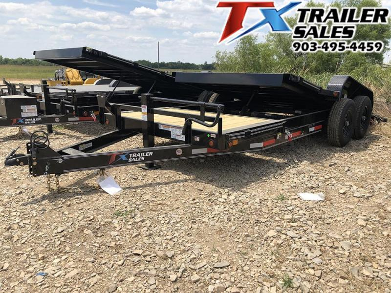 "83"" X 20' TILT DECK 14K Car Hauler / Equipment Hauler"