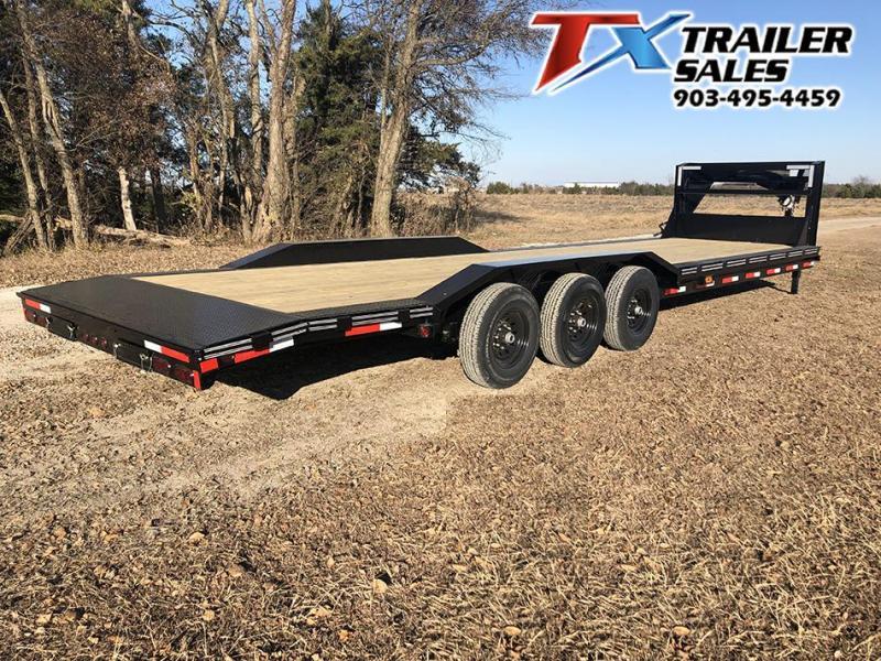 "2020 East Texas 102"" X 32' GN LOW BOY CARHAULER/ EQUIPMENT 21K Equipment Trailer"