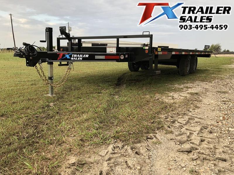2020 East Texas 102 X 20 BP DECK OVER 12K Flatbed Trailer