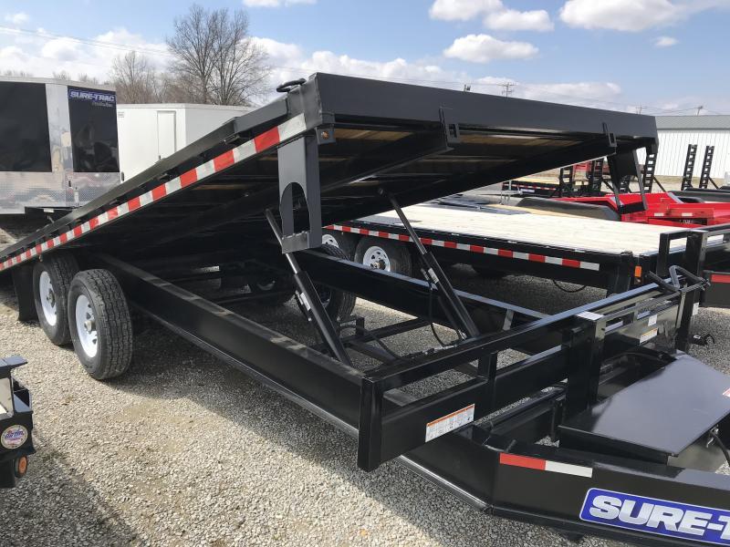 2017 Sure-Trac 102x22 Deckover Tilt