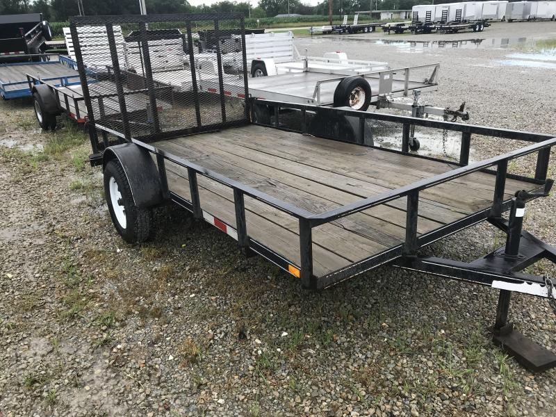 2007 Liberty 6x12 Utility Flatbed Trailer