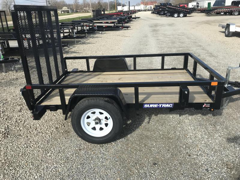 2018 Sure-Trac 5x8 Tube Top Utiity Utility Trailer