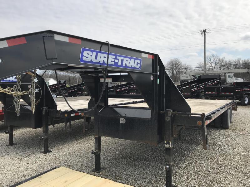 2016 Sure-Trac ST85x255 Gooseneck Flatbed Trailer